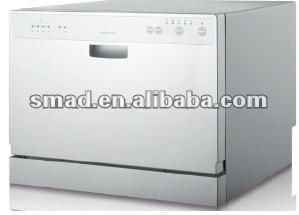 6sets tabletop/countertop/desktop dishwasher with SAA/GS/CE/EMC