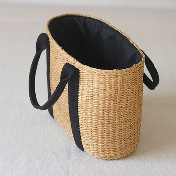 INS Popular Hot Sale Straw Rattan Bag Beach Bags Wholesale new design