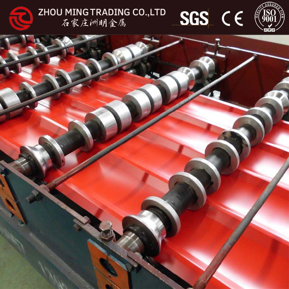 corrugated aluminium wall panels/guard rail roll forming