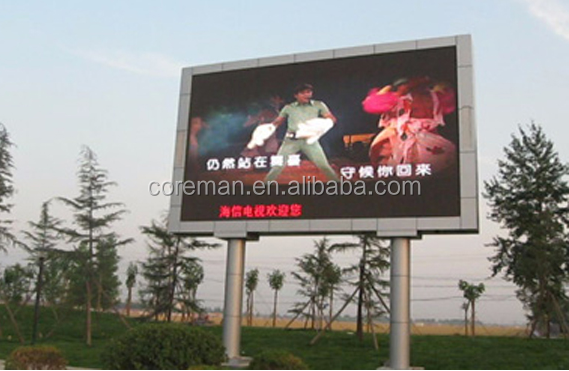 Hot Products 2015 Video Outdoor Led Screen / P10 P16 Full Color Video Play Led Screen