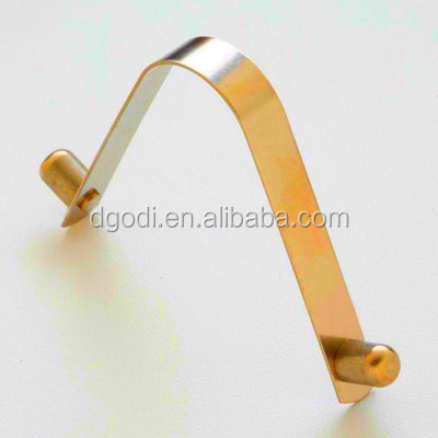 China spring clip manufacturer custom push button spring snap clip