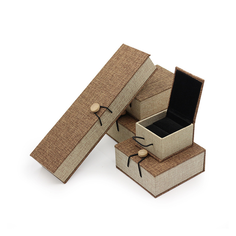 Customization Jewelry box jewelry contains simple earrings, rings, necklaces, makeup boxes and jewelry store gifts