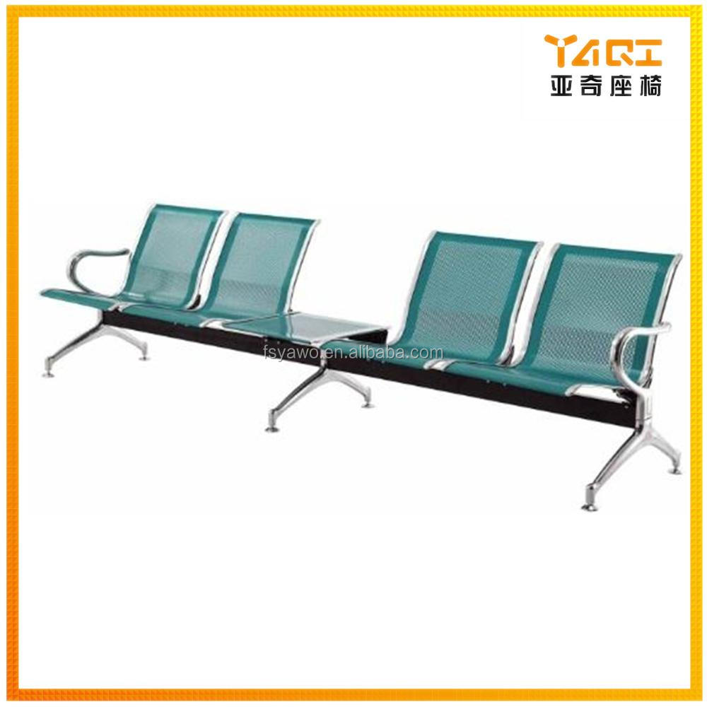 Groovy Public Hospital Beauty Salon Metal Bench Seating 5 Seater Airport Waiting Chair With Middle Tea Table Ya 23 Buy Airport Waiting Chair Airport Gmtry Best Dining Table And Chair Ideas Images Gmtryco