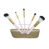 OEM 5pcs Makeup Brushes Set Powder Foundation Blush Lip Brush Tool