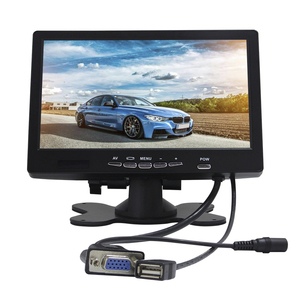 1024*600 resolution 7 inch monitor screen touch for car