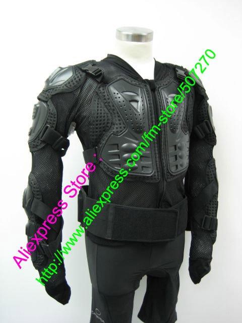 Бесплатная доставка! Новый черный жилет куртки протектор бронежилет мотоодежда передач гонки броня с бирками ml XL XXL XXXL