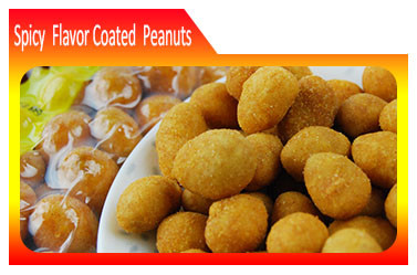 spicy coated roasted peanuts exporter