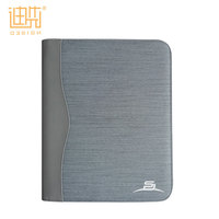 Latest design OEM / ODM PU + fabric shockproof card slots metal zipper puller rugged tablet case back cover for ipad mini