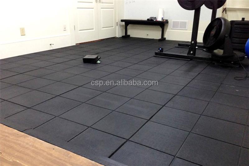 Durevole resistente alle macchie crossfit tappetino fitness