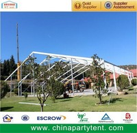 Beautiful wedding tent or canopy tent with aluminum frame and PVC fabric for sale