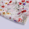 Free sample xianglong simple and elegant white polyester fabric plain chiffon for voile or dress