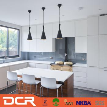 White Ash Aluminium Carcass Kitchen Cabinet Design Software Foshan