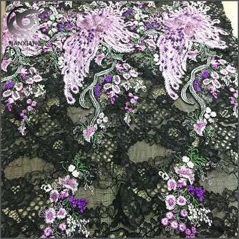 QTY 160cm High-End Fashion 3D Beautiful Embroidery Patterns Design