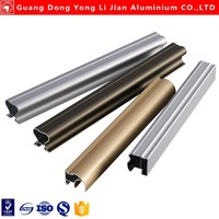 Aluminium stair profile and other aluminium alloy extrusion profile for channel