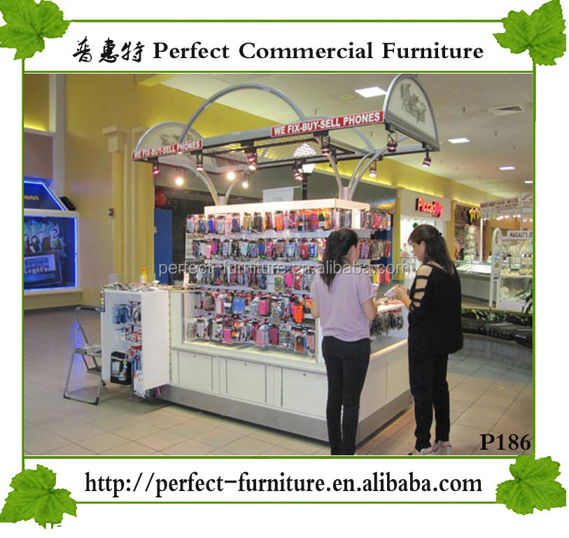 shop names modern tv stand showcase mobile accessories kiosk
