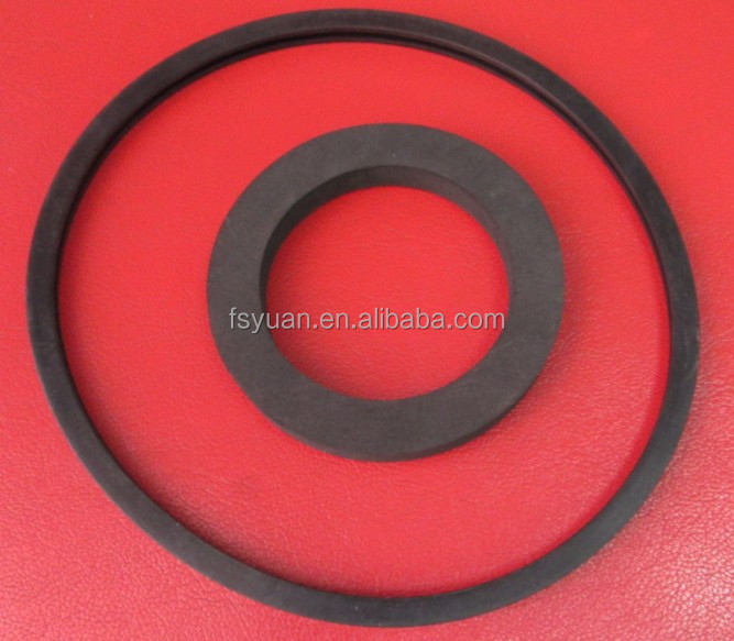 Rubber Flat Ring / Large Silicone Rubber Flat Ring / Viton Rubber ...