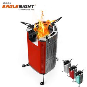 2018 Outdoor Wood Biomass Camping Stove
