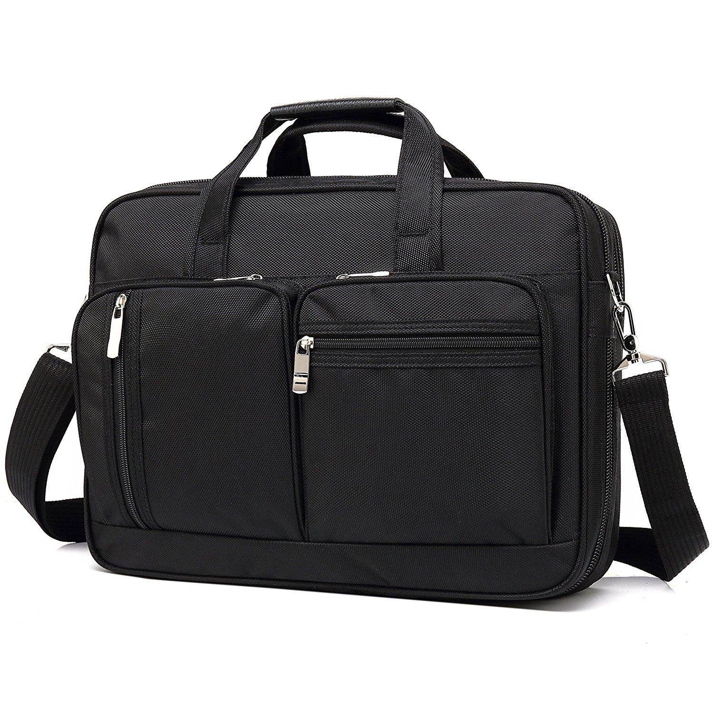 Get Quotations · Vintage Laptop And Tablet Messenger Bag Expandable  Organizer Briefcase Toploader 8cbac0a65c172