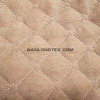 fabric wholesale winter garment suede fabric textile