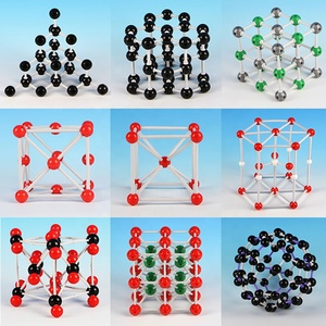 Chemistry Label Experiments 9 set crystal structure model molecular model  kit for Teacher and student