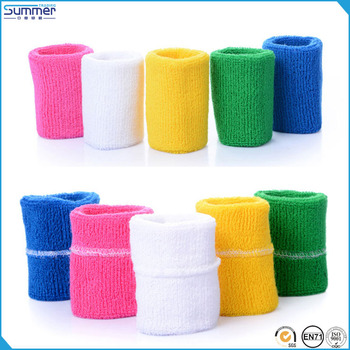 High Quality Various Color Sport Elastic Cotton Blank Sweatband For Custom Logo