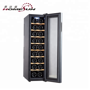 Custom Home Bar With Wine Fridge 18 Bottle Cooler For Kitchen Counter View Homesun Product Details