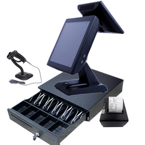 "Factory price 15"" AIO 15 inch pos system used for restaurant grocery store"