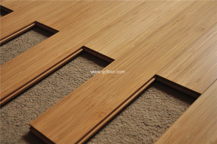 Gebruikte Houten Vloer : Indoor gebruikt koffie kleur effen bamboe houten vloer buy