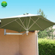 Durable In Use Beer Sun Garden Wall Mounted Umbrella