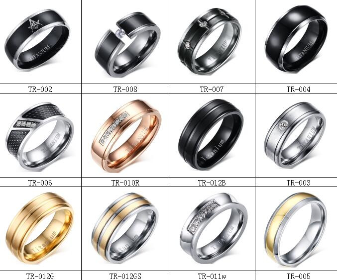 Stainless Steel Gold Wedding Ring Simple Gold Ring Design For Couple