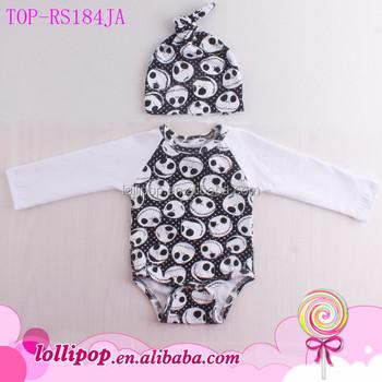 Newborn Jack Skeleton Sewing Pattern Raglan Bodysuit Toddler Infant ...