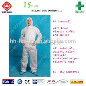 Type5 6 Overall, Medical Disposable Overall