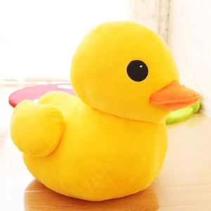 Giant Yellow Duck Stuffed Animal Plush Soft Toys Cute Doll Rubber Duck