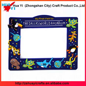 Santa Clause Theme Rubber Photo Frame - Huayi Crafts Factory - Buy ...