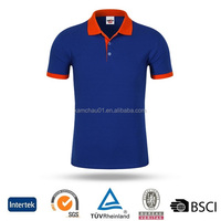 Latest Trendy Custom logo dark blue loose size cotton jersey office uniform men's polo t-shirts