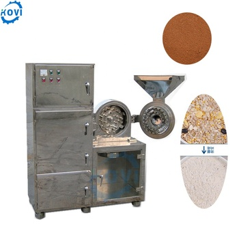 Chocolate red chilli crushing machine wheat grinding machine