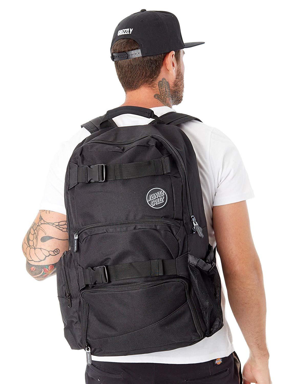 f4752c4f983 Get Quotations · Santa Cruz Voyager 2 Skate Backpack