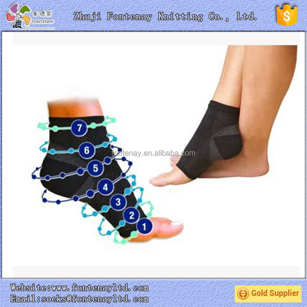 Medical Plantar Fasciitis Compression Heel Arch Support Ankle Sock