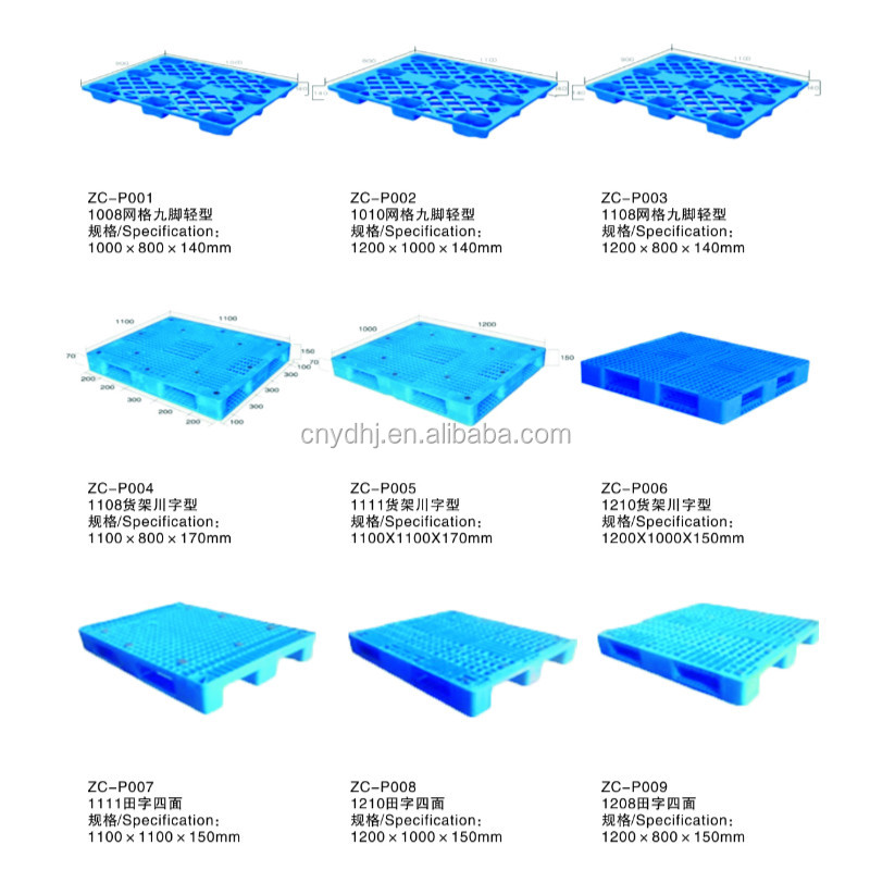 Suzhou Factory Different Styles Euro Plastic Pallets Size Prices - Buy  Plastic Pallets Prices,Euro Pallet,Pallet Size Product on Alibaba com
