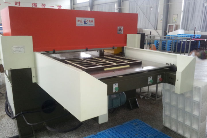 Hydraulic automatic die cutting machine XCLP3-A for blister packaging