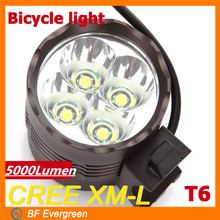 2014 seguridad led 5000 lúmenes bike light light bike