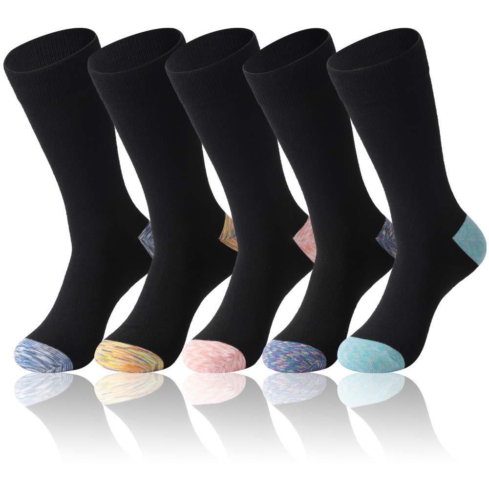 f83a2c0c7f2 Get Quotations · Crazy Eleven 5 Pack Dress Socks