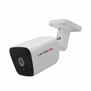 LSVISION Outdoor H.265 WDR P2P POE Audio 200w pixels IP Bullet 2mp Starlight Ultra Low Light Camera Waterproof