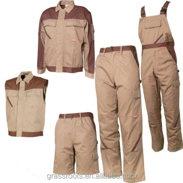 Work pants vest jacket carpenter work dungarees cheape workwear uniforms