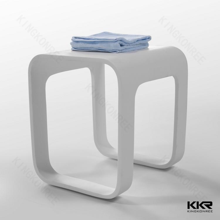 bianco bagno mobili da bagno doccia sgabello sgabello superficie solida