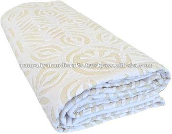 All clip of handmade applique bed sheet bhclip