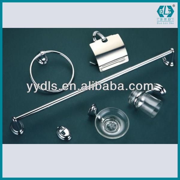 Fabrication 1601 6pcs accessoires de bain ensemble, zinc, inox ...