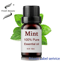 Oil control acne removing hydrating 100% pure mint essential oil