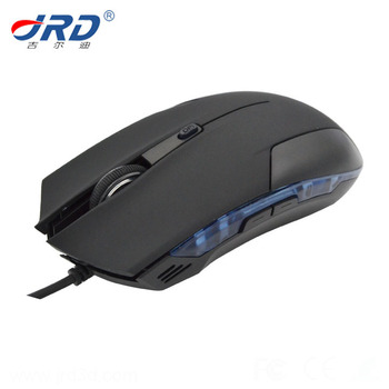 High Quality Custom Design Computer&laptop Optical 6D Gaming Wired Mouse with Multi Color LED Light