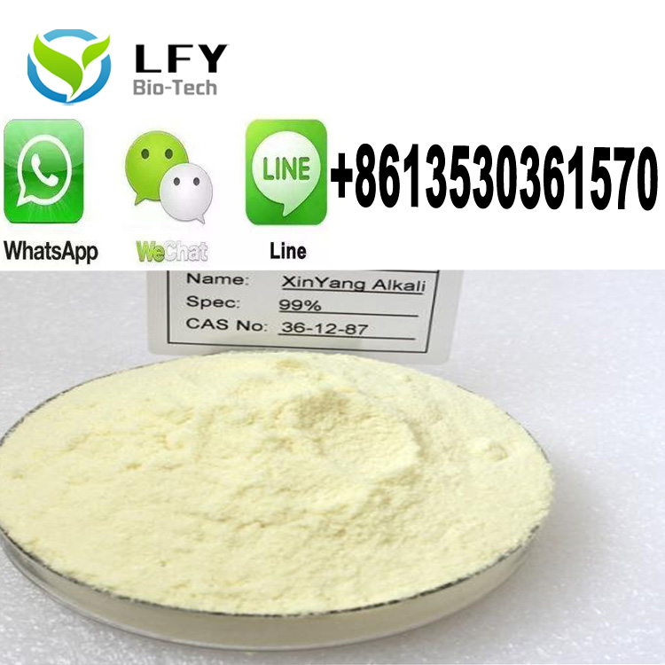 High Purity Sex Enhancers Raw Steroids Light Yellow Powder XinYang Alkali //XinYang base
